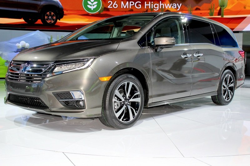 2018 Honda Odyssey High Resolution Exterior AutoShow - image 702261