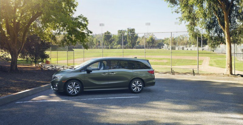 2018 Honda Odyssey High Resolution Exterior - image 700652