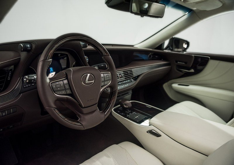 2018 Lexus LS 500 High Resolution Interior - image 700563