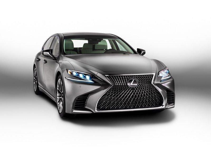 Lexus Considering New Powertrain Options for the LS Sedan