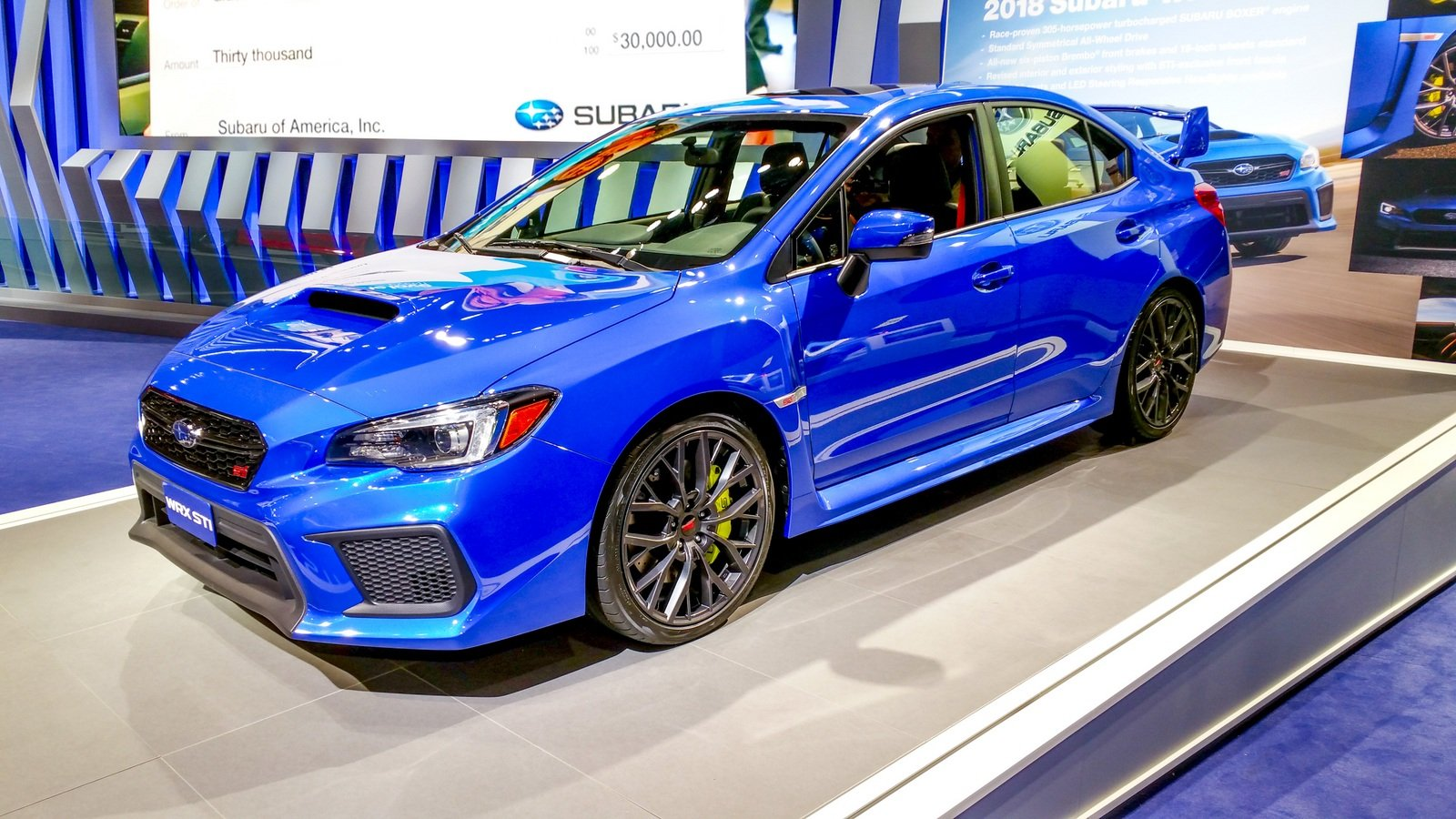 2018 subaru wrx sti picture 702508 car review top speed. Black Bedroom Furniture Sets. Home Design Ideas