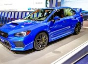 It's Not Much but the Subaru WRX STI Will Get a Minor Bump in Power for 2019 - image 702508