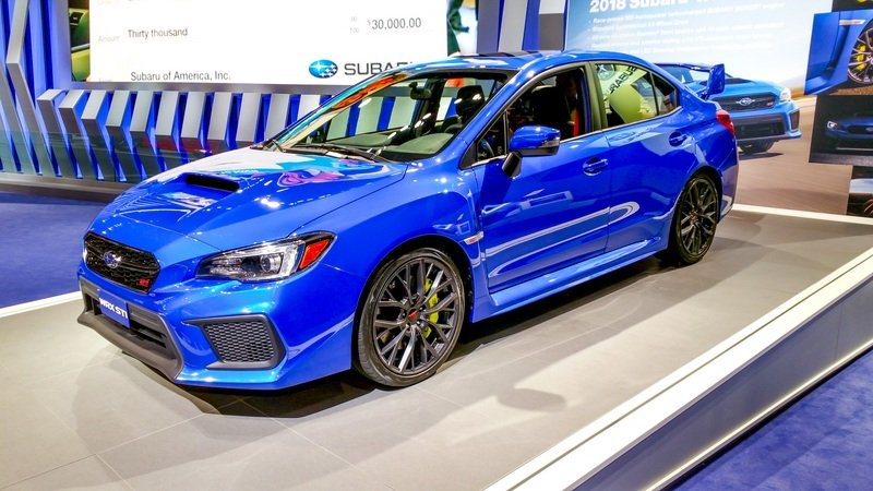 Subaru Wrx 0 60 >> 2018 Subaru Wrx Sti Top Speed