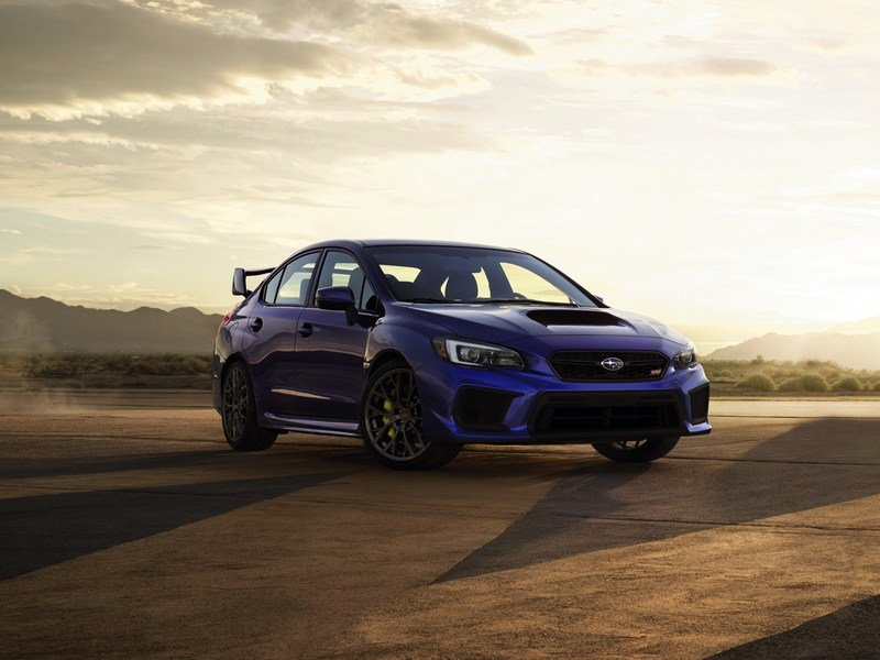 Wallpaper of the Day: 2018 Subaru WRX STI