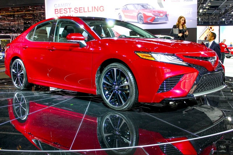 2018 Toyota Camry High Resolution Exterior AutoShow - image 702372