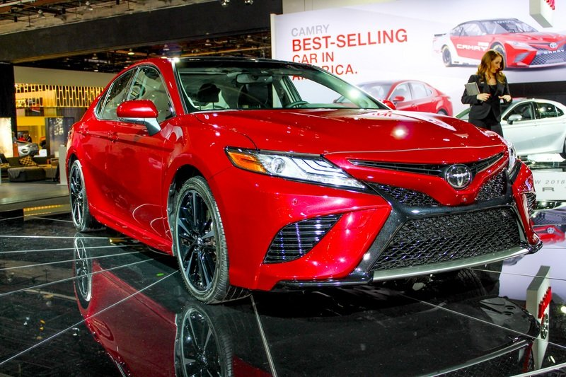 2018 Toyota Camry High Resolution Exterior AutoShow - image 702373