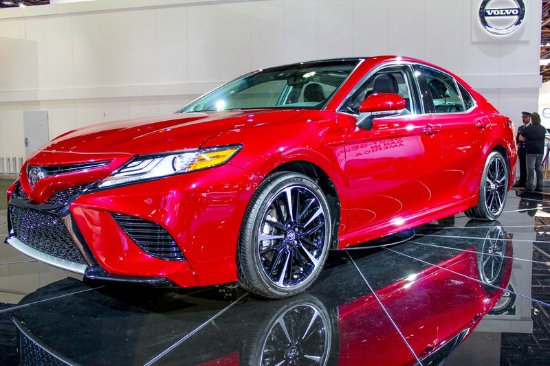 2018 Toyota Camry High Resolution Exterior AutoShow - image 702381