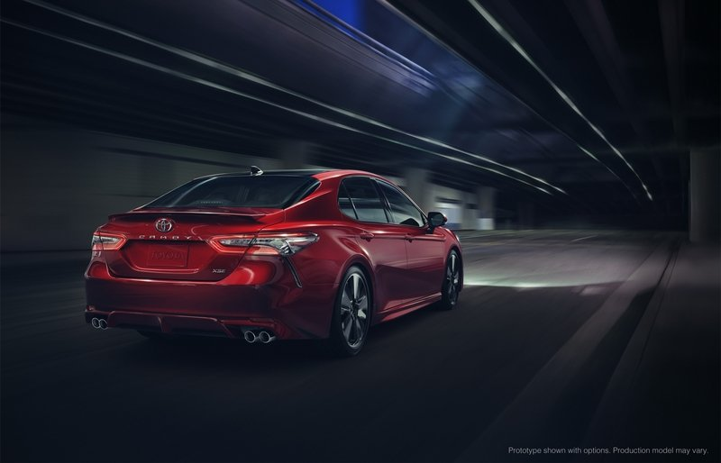 2018 Toyota Camry Wows Detroit with Gorgeous Design