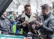 Arnold Schwarzenegger Goes Terminator on Climate Change; Gets Custom, All-Electric Mercedes G-Class - image 703536