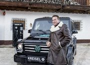 Arnold Schwarzenegger Goes Terminator on Climate Change; Gets Custom, All-Electric Mercedes G-Class - image 703546