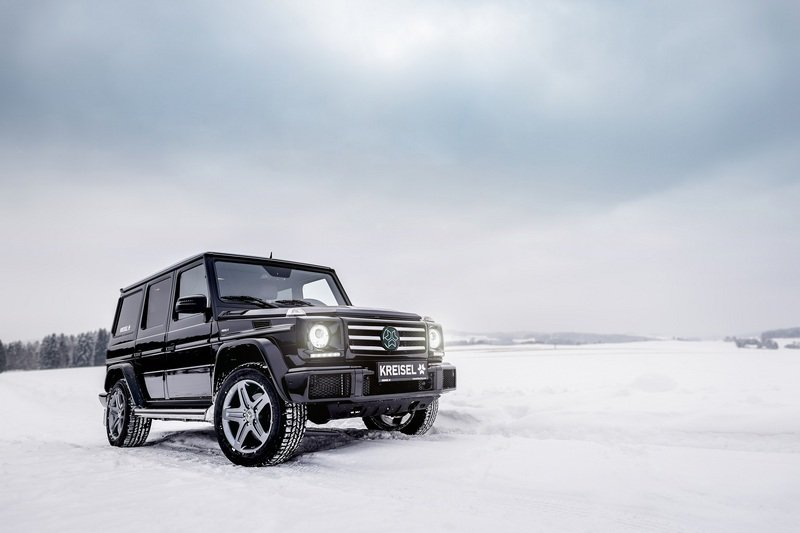 Arnold Schwarzenegger Goes Terminator on Climate Change; Gets Custom, All-Electric Mercedes G-Class High Resolution Exterior - image 703525