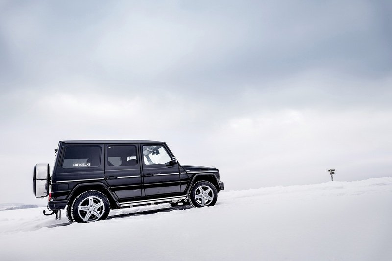 Arnold Schwarzenegger Goes Terminator on Climate Change; Gets Custom, All-Electric Mercedes G-Class High Resolution Exterior - image 703530