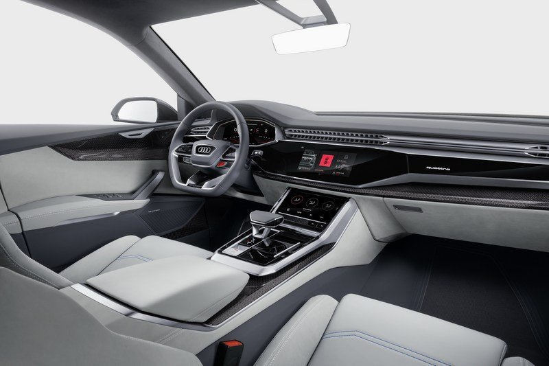2017 Audi Q8 E-tron Concept Interior Computer Renderings and Photoshop - image 700407