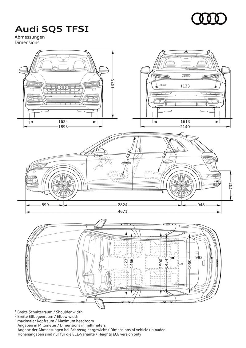 Audi Adds More Fast To The SQ5 With Extra Torque, New Air Suspension Exterior - image 700472