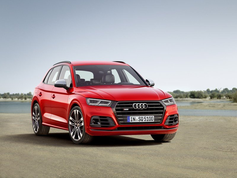 Audi Adds More Fast To The SQ5 With Extra Torque, New Air Suspension High Resolution Exterior - image 700473
