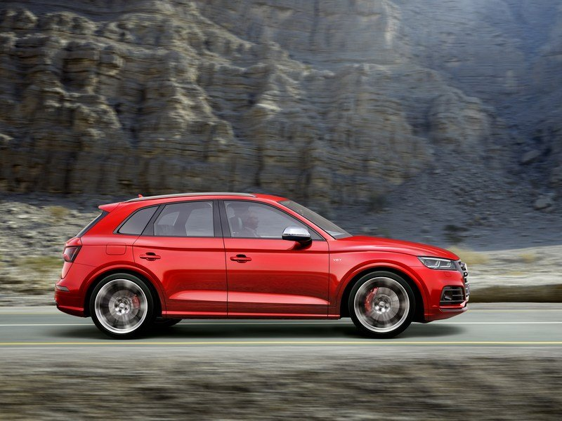 Audi Adds More Fast To The SQ5 With Extra Torque, New Air Suspension High Resolution Exterior - image 700481
