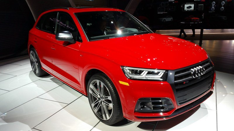 Audi Adds More Fast To The SQ5 With Extra Torque, New Air Suspension