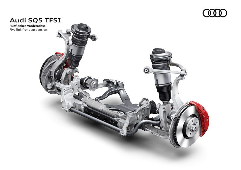 Audi Adds More Fast To The SQ5 With Extra Torque, New Air Suspension Drivetrain - image 700468