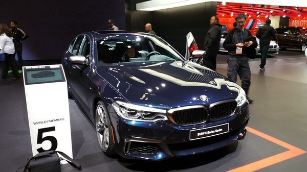 BMW M550i xDrive is the quickest 5 Series Yet!