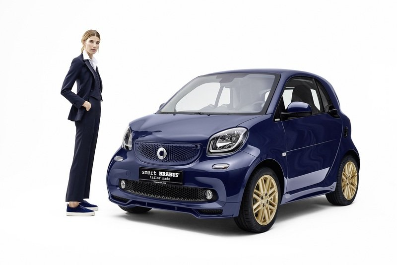 2017 Brabus Smart Fortwo By Veronika Heilbrunner