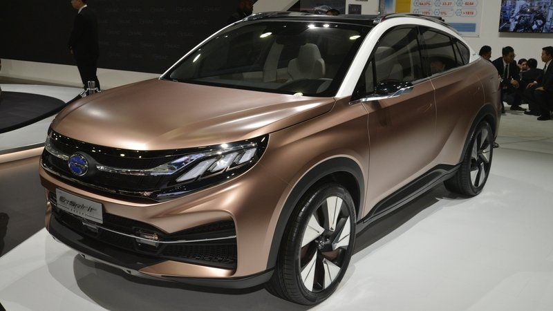Chinese Automaker Brings Three Cars to Detroit, Announces U.S. Market Assault