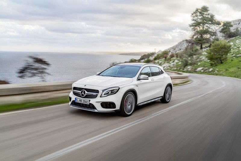 2018 Mercedes-Benz GLA High Resolution Exterior - image 700285