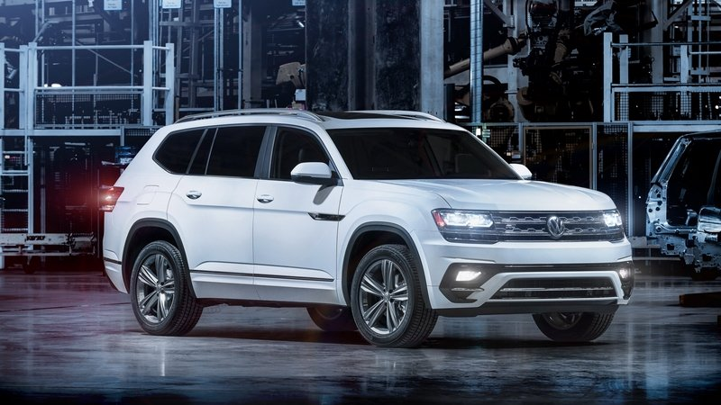 2017 Volkswagen Atlas R-Line High Resolution Exterior - image 700231