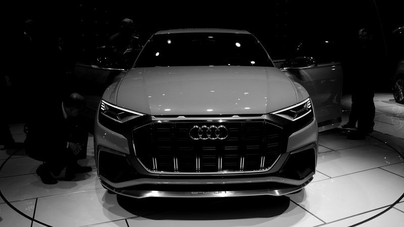 Did Audi Hire Darth Vader to Design the Q8?