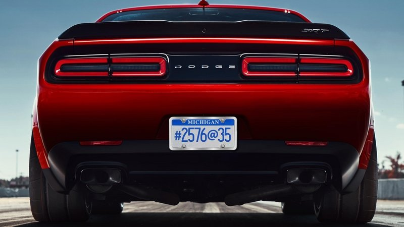 Dodge Challenger Demon Sports a Cryptic License Plate, but What Does it Mean?