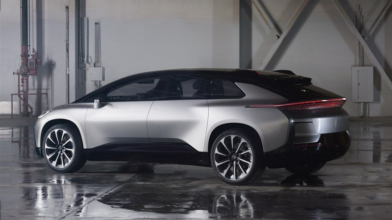 Faraday Future Can't Get the FF91 to Market But Is Already Talking About Future Models Exterior Computer Renderings and Photoshop - image 700033