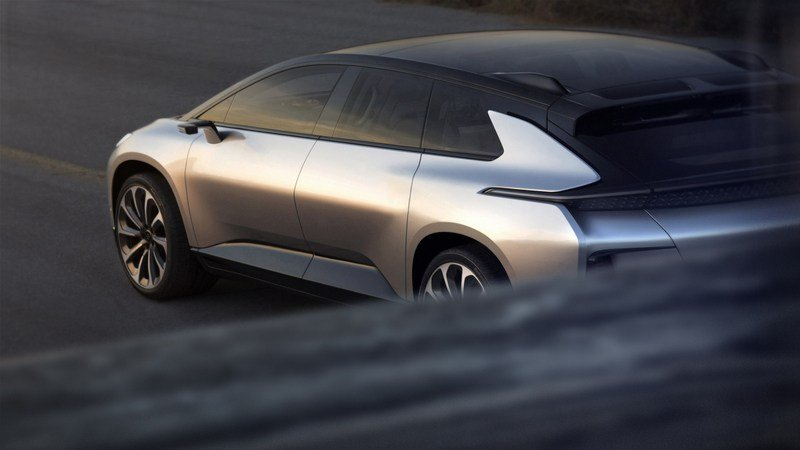 Faraday Future Can't Get the FF91 to Market But Is Already Talking About Future Models Exterior Computer Renderings and Photoshop - image 700036