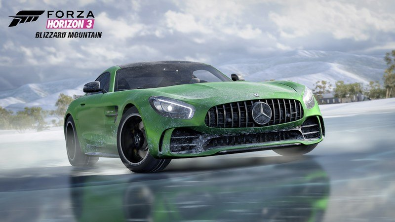 Forza Horizon 3's New DLC Unleashes This Mercedes-AMG Supercar
