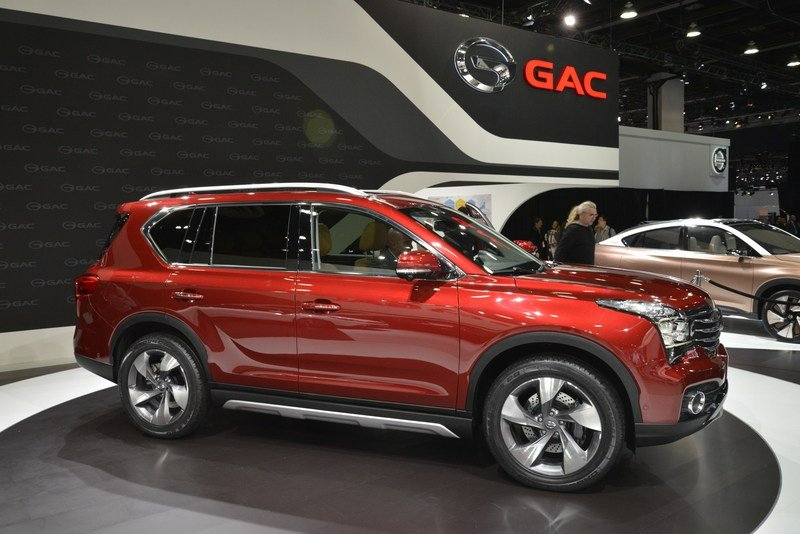 Chinese Automaker Brings Three Cars to Detroit, Announces U.S. Market Assault High Resolution Exterior - image 700965
