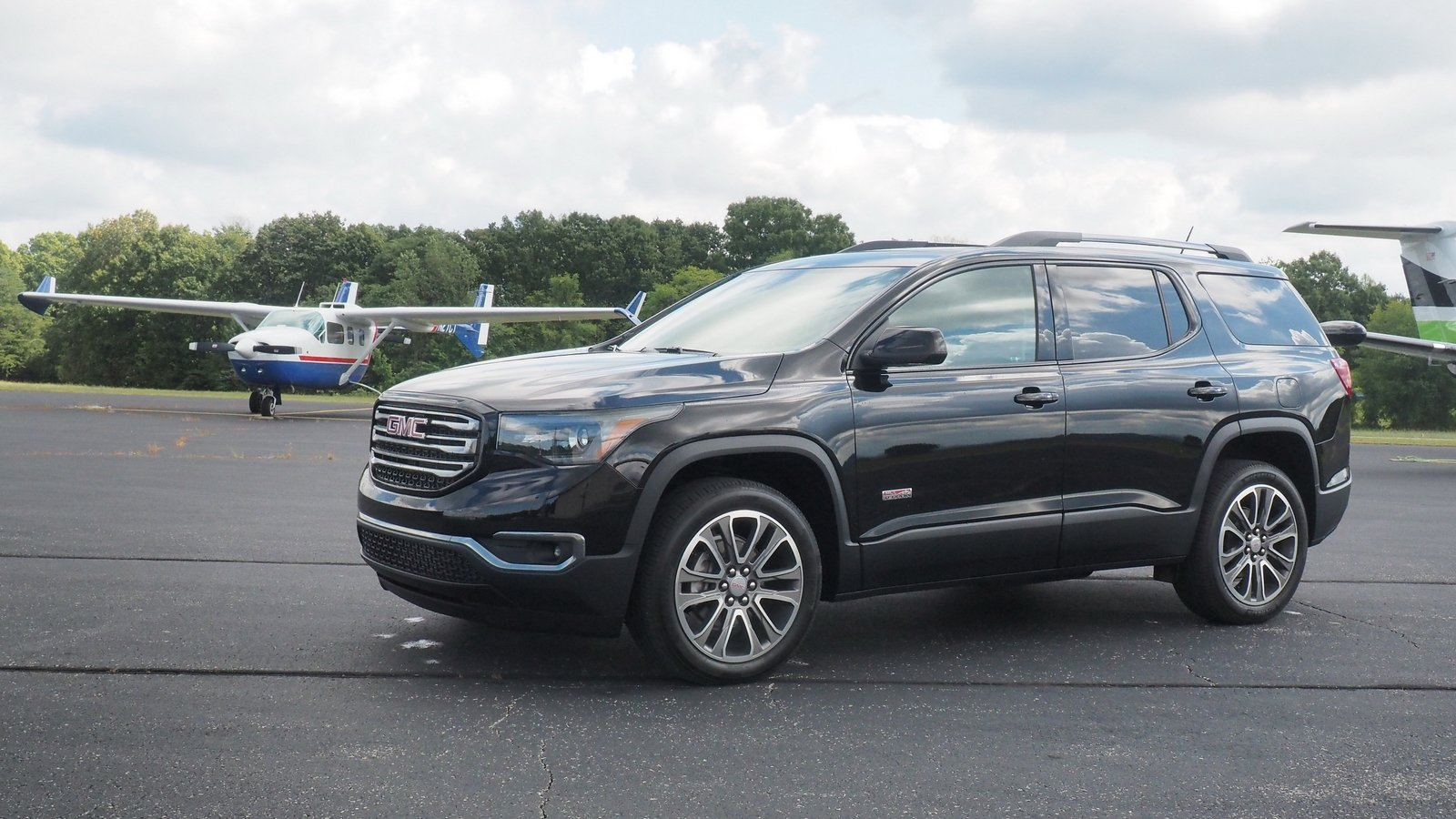 gmc acadia terrain driven cars