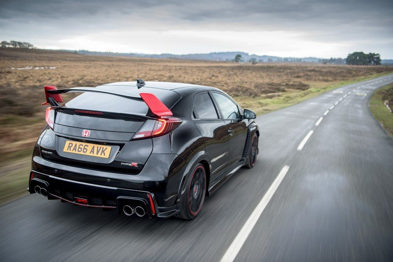 2017 Honda Civic Type R Black Edition High Resolution Exterior - image 701254