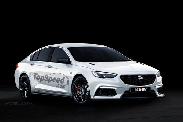 2019 HSV Commodore | car review @ Top Speed