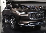 Infiniti QX50 Concept's Internal Combustion Engine Will Beat Up Your Hybrid - image 701136
