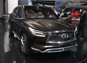 Infiniti QX50 Concept's Internal Combustion Engine Will Beat Up Your Hybrid - image 701139
