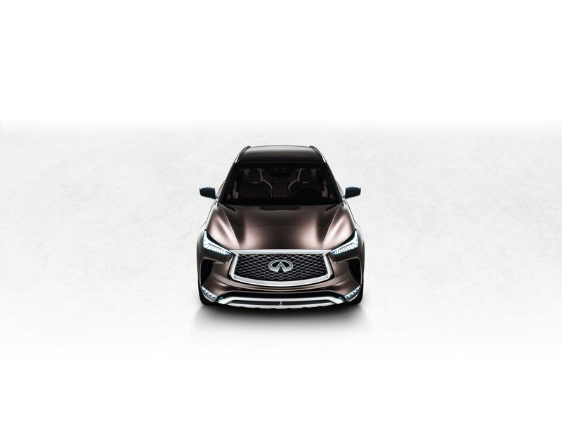 Infiniti QX50 Concept's Internal Combustion Engine Will Beat Up Your Hybrid Exterior Computer Renderings and Photoshop - image 700745