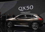 Infiniti QX50 Concept's Internal Combustion Engine Will Beat Up Your Hybrid - image 701140