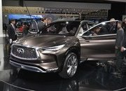 Infiniti QX50 Concept's Internal Combustion Engine Will Beat Up Your Hybrid - image 701141