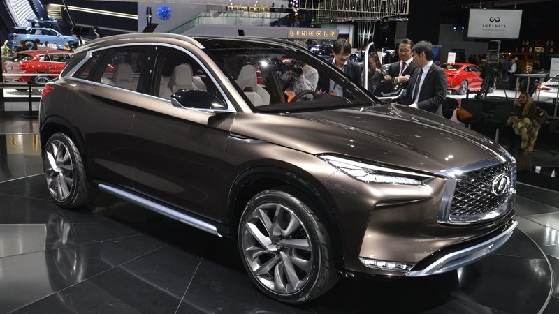 Infiniti QX50 Concept's Internal Combustion Engine Will Beat Up Your Hybrid