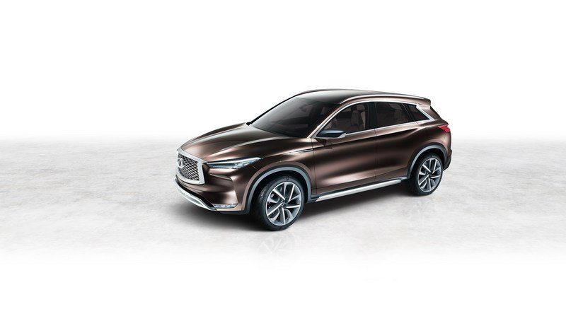 Infiniti QX50 Concept's Internal Combustion Engine Will Beat Up Your Hybrid Exterior Computer Renderings and Photoshop - image 700743