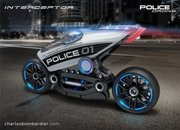Police Motorcycle Drone On The Drawing Boards - image 700804
