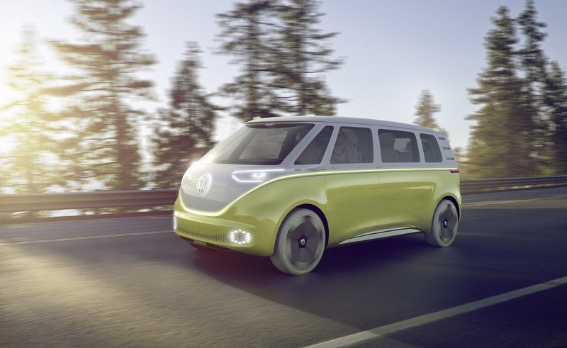 2017 Volkswagen I.D. BUZZ Exterior Computer Renderings and Photoshop - image 700707