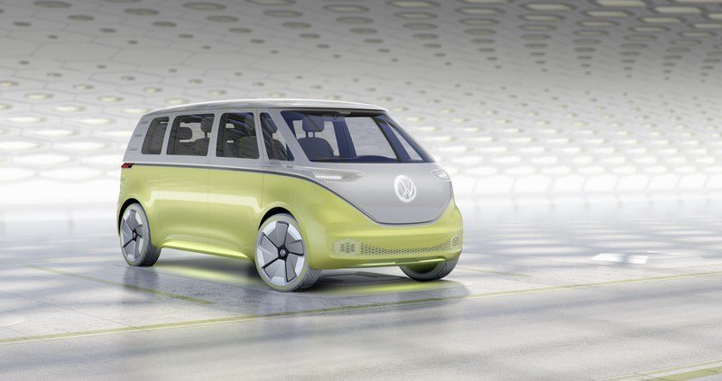 Don't Get Excited Yet, But Volkswagen Is Preparing To Bring Back The Microbus Exterior Computer Renderings and Photoshop - image 700713