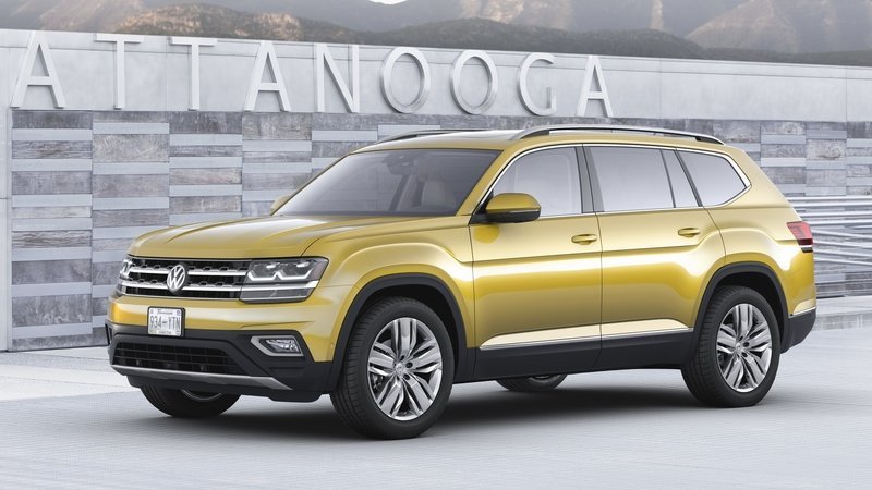 Is VW Building an Atlas-based Unibody Pickup?
