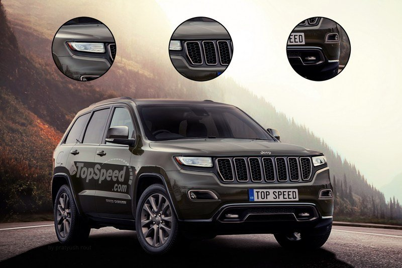 2018 Jeep Grand Cherokee Exterior Exclusive Renderings Computer Renderings and Photoshop - image 700236