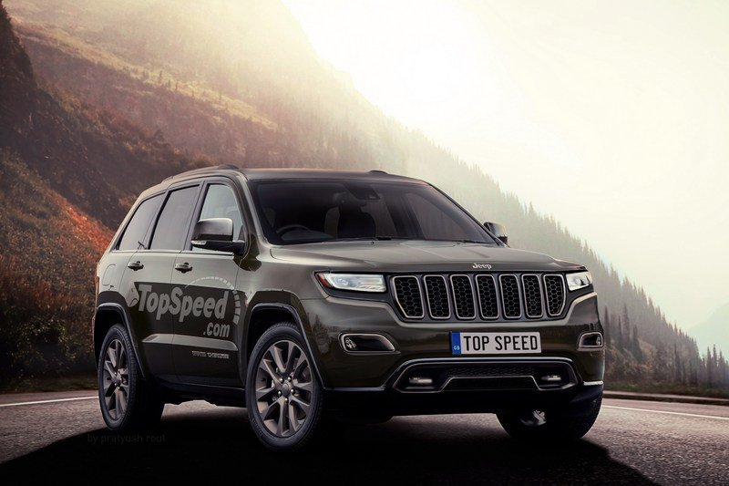 2018 Jeep Grand Cherokee Exterior Exclusive Renderings Computer Renderings and Photoshop - image 700235