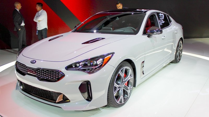 Kia Isn't Done with the Stinger Quite Yet